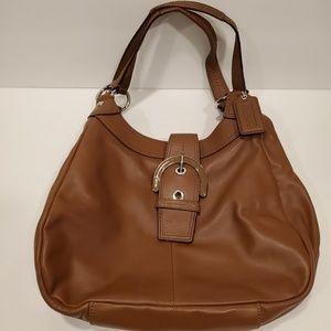 Coach Soho Lynn Hobo Buckle Bag F17219